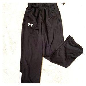NWT UA Youth Track Pants - Size S